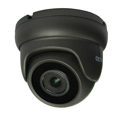 5MP IP NETWORK CCTV GREY DOME POE CAMERA, 3.6mm FIXED LENS UP TO 20m IR