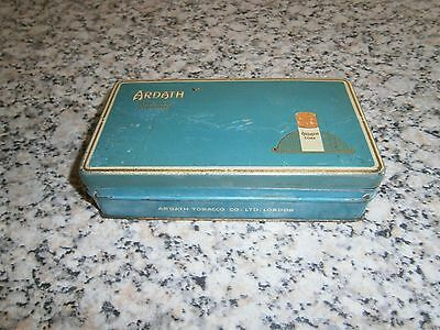 Ardath Cigarette Tin 50 Cork Tipped