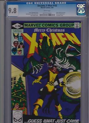 X-Men # 143 CGC 9.8  Perfectly Centered with White Pages.