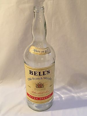 Large Bells Whisky bottle 4.5 L - Ideal for Money Box/small Change