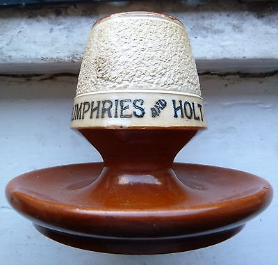 Rare HUMPHRIES & HOLT MINERAL WATERS READING advertising match striker C 1900s
