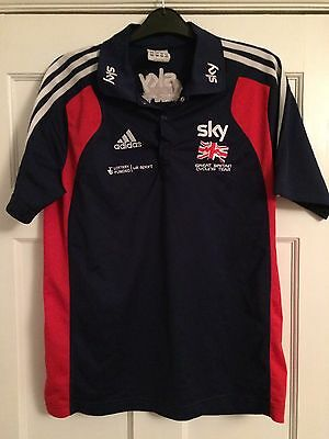 Adidas Polo Shirt Great Britain Team Sky Cycling