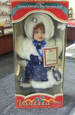 Vanessa Collection Limited Edition 2003 Porcelain Doll by Timeless Treasures