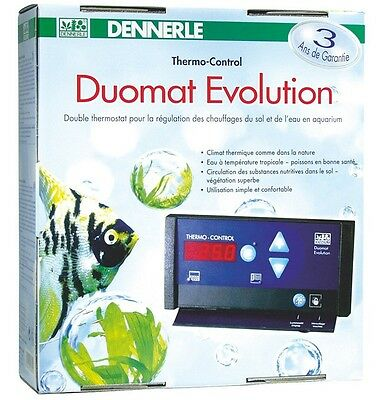 Dennerle Thermo-Control Duomont Evolution Double Thermostat À Règlement