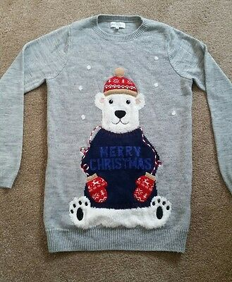 Maternity Christmas Jumper from Next Size 10