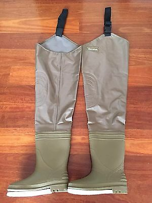 Snowbee Thigh Waders Hip Boots Fishing Size 7