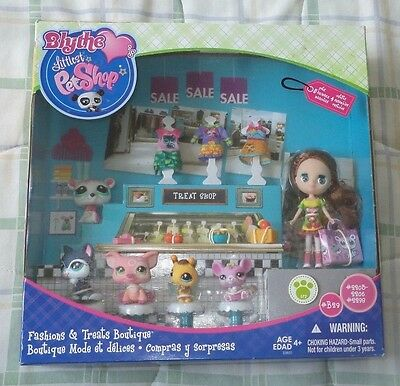 Littlest pet shop Fashions and Treats Boutique  New rare find