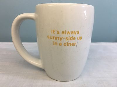 """Denny's, Coffee Cup Mug DIVERSIFIED - """"It's always sunny-side up in a diner"""""""