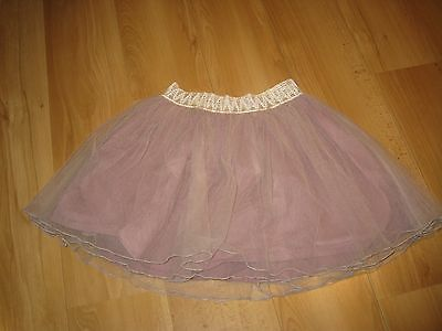 Pink trendy tutu net skirt, age 10-11