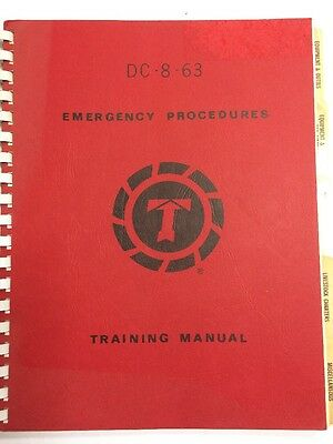 Flying Tiger Line DC-8-63 Emergency Procedures Training Manual Study Guide