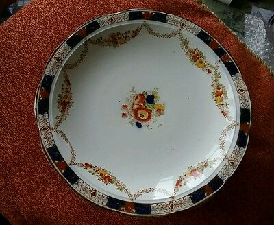 Gaudy Welsh cake stand