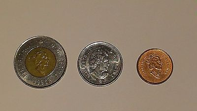 Lot of 3 Coins from Canada