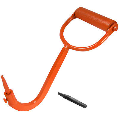 Log Lifting Hook - Comes with a Replacement Tip - Made in Canada