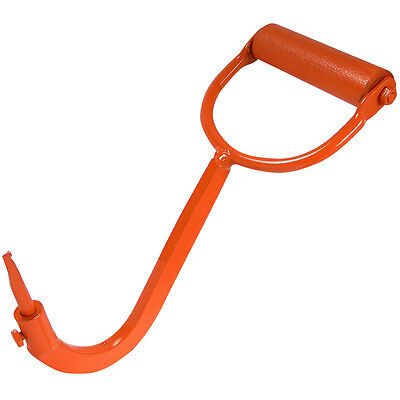 Log Lifting Hook Made in Canada with replaceable tip. Log hook