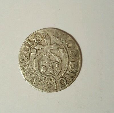 RARE MEDIEVAL SILVER HAMMERED COIN- GREAT DETAILS - Date 1623