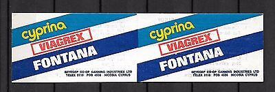 Cyprus  Booklet Canning Industries Unused #04