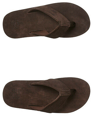 New Swell Men's Cartel Thong Synthetic Mens Shoes Brown