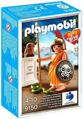 PLAYMOBIL 9150 PLAY & GIVE ANCIENT GREEK GOD OF WISDOM ATHENA 7.5cm