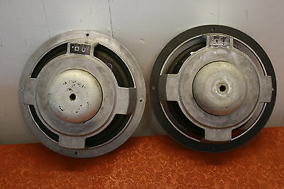 Vtg Pair JBL 125A 10 inch Woofers Speakers L36 decade NEED FOAM SURROUNDS WORK