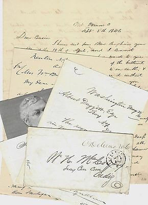 Grant's Cabinet: Abolitionists, Reformists, Corrupt Officials -- 5 Piece Lot