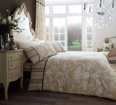 Christmas Sale Duvet Cover with Pillowcase Bed Set Richmond Natural Super King