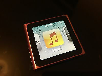 Apple iPod nano 6th Generation PINK (8GB) GREAT CONDITIONS