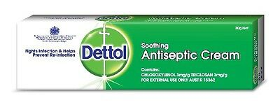 Dettol Antiseptic Cream Soothing 30 g
