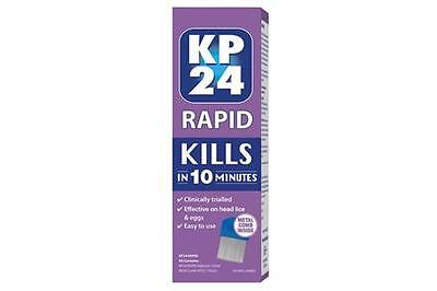 KP24 Rapid Solution 150 mL With Metal Comb