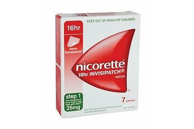 Nicorette 25mg Step 1- 7 Invisipatches