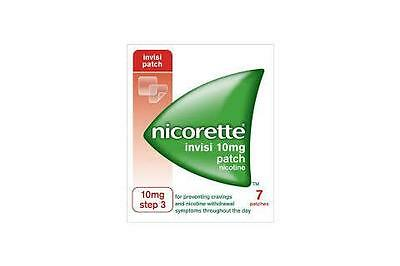 Nicorette 10mg Step 3-7 Invisipatches