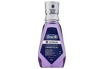 Oral B Clinical Mouthwash 7 in 1 500mL