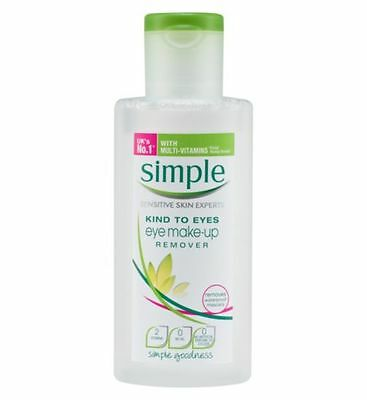 Simple Eye Make-up Remover 125mL