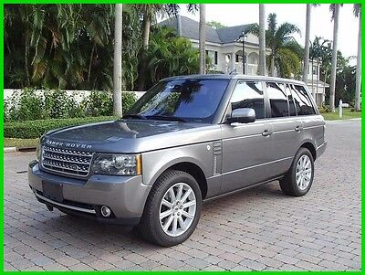 2011 Land Rover Range Rover Supercharged 2011 LAND ROVER RANGE ROVER SUPERCHARGED!