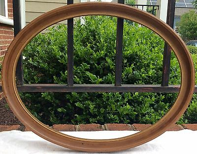 Vintage Heavy Duty Plastic Faux Wood Frame