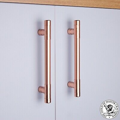 Copper T Pull Handle | Drawer Pull | Cabinet Hardware | Kitchen Cupboard Pulls