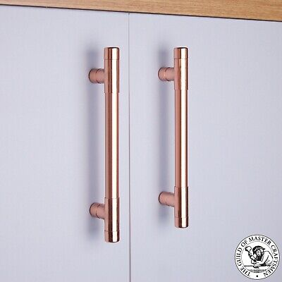 Modern Copper T Pull Handle Drawer Pull Cabinet Hardware Kitchen Cupboard Pulls
