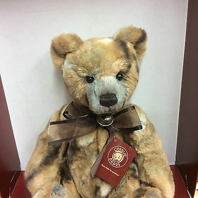 Charlie Bears Jemima Secret Collection 15 Inch  Plush  Jointed Bear Bnwt