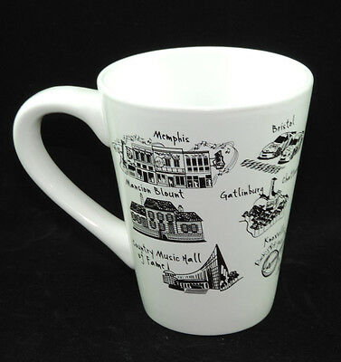 Coffee Mug- The Dish Tennessee Memphis Bristol Nashville Opry Great Smoky gift