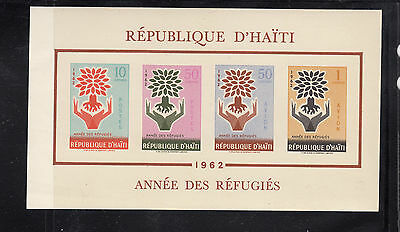 Haiti 1962 Refugees Sc C192a MS  mint never hinged