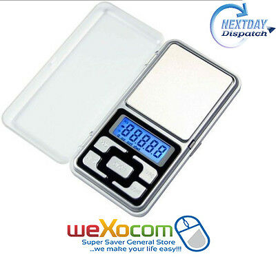 Mini Pocket Scale Digital Weighing Scale Pocket Jewelry Weighing Scale 0.1-500G