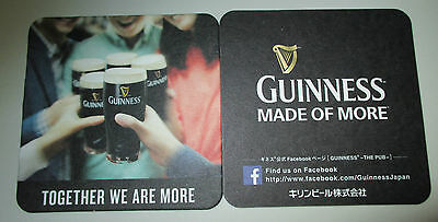 Beer Coasters Set Of 1 Guinness Irish Beer Japan Issued Great Collectors Set.