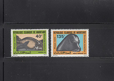 Mauritania 1973 Seals Sc 300 and C130  Mint Never Hinged