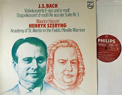 Philips 9500 226 Stereo - Bach The Violin Concertos Henryk Szeryng ED-1 LP NM