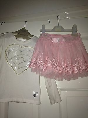 Girls Le Chic Outfit Set Age 2-3