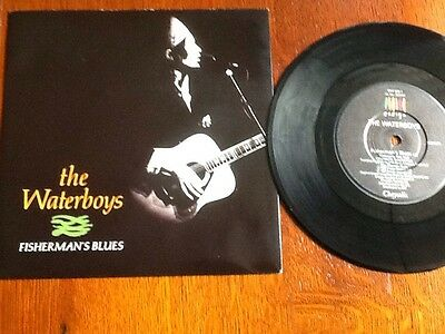 "The Waterboys - Fisherman's Blues / Lost Highway 7"" single (Ensign - 1989)"
