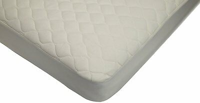 American Baby Company Natural Organic Cotton Quilted Crib Mattress Cover, 82763