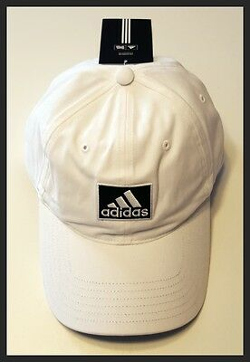 Adidas Adjustable Golf Cap - White - Brand New - New With Tags