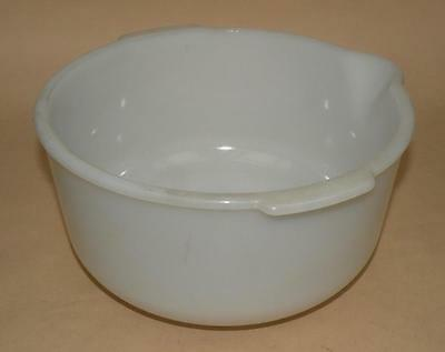 Vintage 1940's or 50's Sunbeam GLASBAKE Mixing Bowl - #14