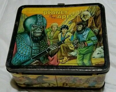 1974 PLANET OF THE APES LUNCHBOX  NO THERMOS   Aladdin