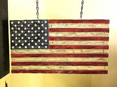 """USA FLAG"" Replacement Sign - Resin Sign for Country Arrow Holders"